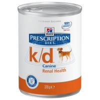 Hill's Prescription Diet K/D Canine Renal Helth canned 370 г 6 шт