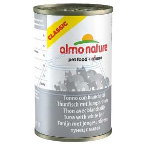 Almo Nature Classic Adult Cat Tuna and White Bait 140 г 24 шт