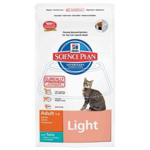 Hill's Science Plan Feline Adult Light with Tuna 5 кг