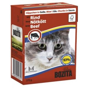 Bozita Feline chunks in sauce with Beef 370 г