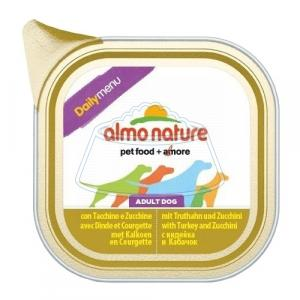 Almo Nature DailyMenu Bio Pate Adult Dog Turkey and Zucchini 300 г