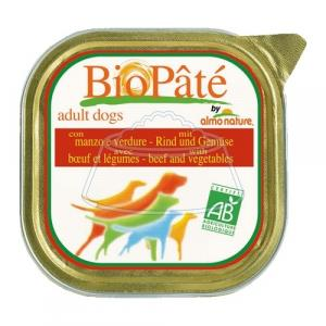 Almo Nature DailyMenu Bio Pate Adult Dog Beef and Vegetables 300 г