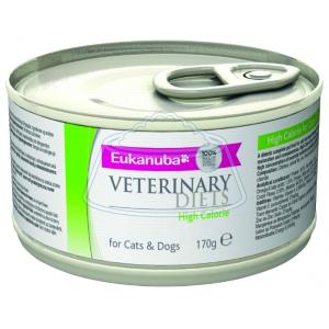 Eukanuba Veterinary Diets High Calorie For Cats & Dogs 170 г 12 шт