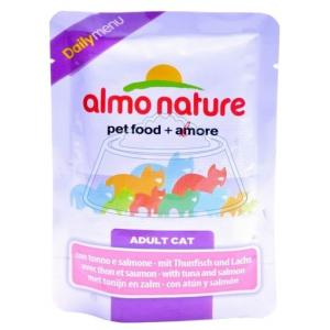 Almo Nature DailyMenu Adult Cat Tuna and Salmon 70 г