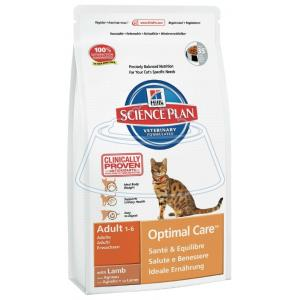 Hill's Science Plan Feline Adult Optimal Care with Lamb 400 г