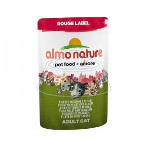 Almo Nature Rouge Label Adult Cat Tuna Fillet and Seaweed 55 г
