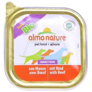 Almo Nature DailyMenu Bio Pate Adult Dog Beef 100 г