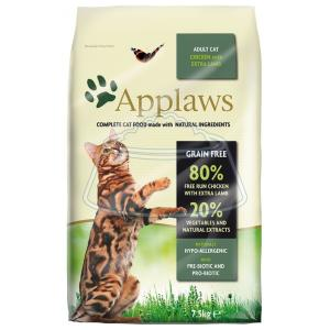 Applaws Adult Cat Chicken with Extra Lamb 2 кг