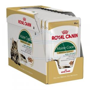 Royal Canin Maine Coon Adult (в соусе) 85 г 12 шт
