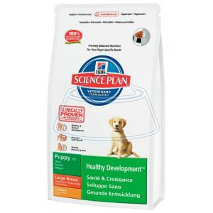 Hill's Science Plan Puppy Healthy Development Large Breed Chicken 18 кг