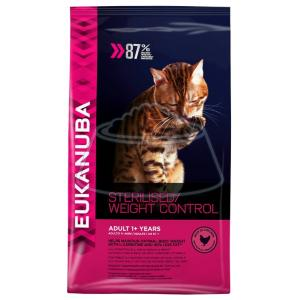Eukanuba Adult Dry Cat Food For Sterilised Cats Weight Control Chicken 10 кг