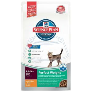 Hill's Science Plan Feline Adult Perfect Weight with Chicken 250 г