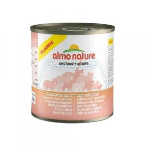 Almo Nature Classic Adult Cat Salmon and Pumpkin 280 г 12 шт