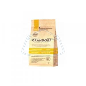 Grandorf 4 Meat & Brown Rice STERILIZED 2 кг