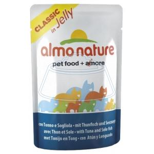 Almo Nature Classic in Jelly Tuna and Sole Fish 55 г
