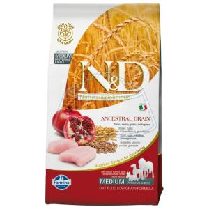 Farmina N&D Low Grain Chicken & Pomegranate Adult 800 г