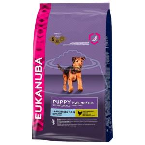Eukanuba Puppy Dry Dog Food For Large Breed Chicken 1 кг