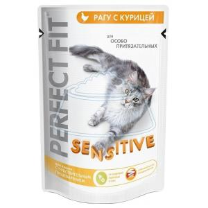 Perfect Fit Sensitive Пауч с курицей 85 г