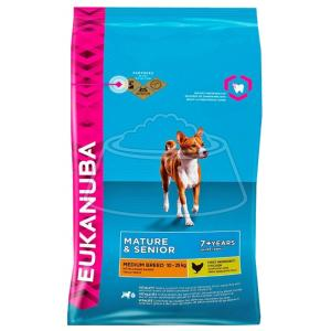 Eukanuba Mature & Senior Dry Dog Food For Medium Breed Chicken 3 кг