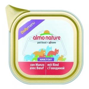 Almo Nature DailyMenu Bio Pate Adult Cat Beef 100 г