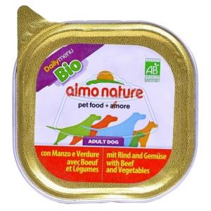 Almo Nature DailyMenu Bio Pate Adult Dog Beef and Vegetables 100 г
