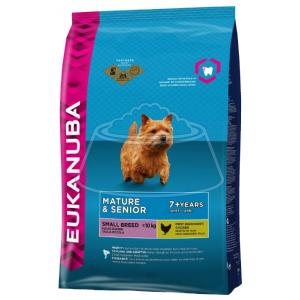 Eukanuba Mature & Senior Dry Dog Food For Small Breed Chicken 1 кг