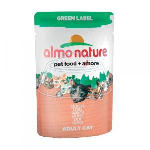 Almo Nature Green Label Adult Cat Salmon 55 г