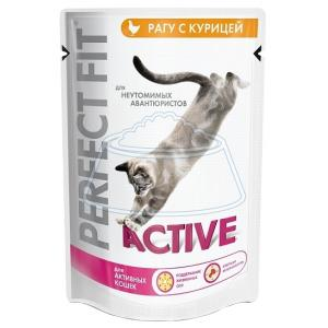 Perfect Fit Active Пауч с курицей 85 г