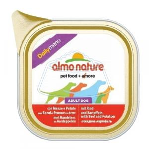 Almo Nature DailyMenu Bio Pate Adult Dog Beef and Potatoes 100 г