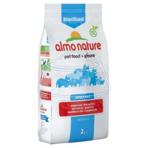 Almo Nature Functional Adult Sterilised Beef and Rice 2 кг