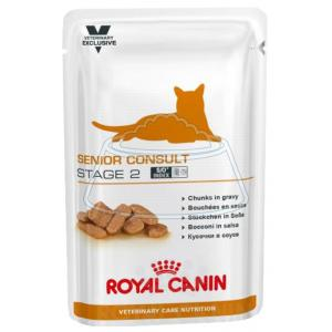Royal Canin Senior Consult Stage 2 (в соусе) 100 г 12 шт